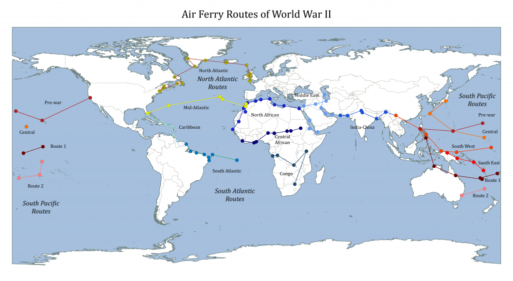 World War 2 Air Ferries