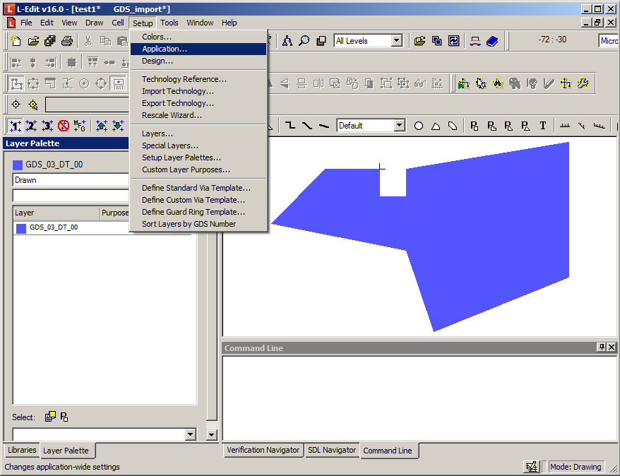 Export L-Edit Config Settings - SetupApplication