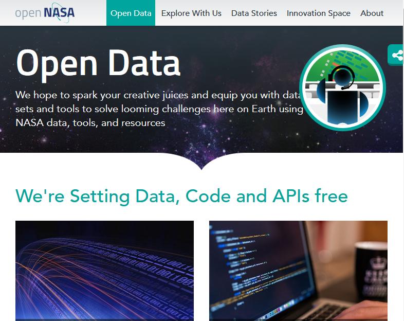nasa - open data api