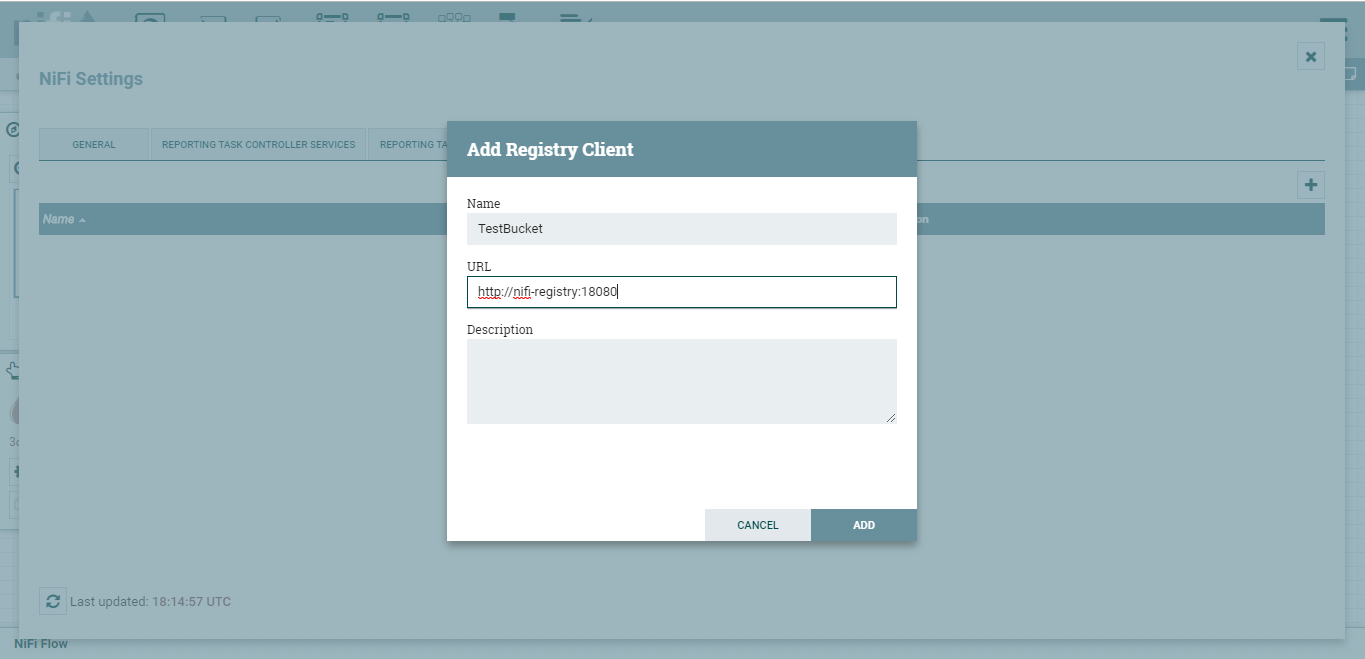 add registry client